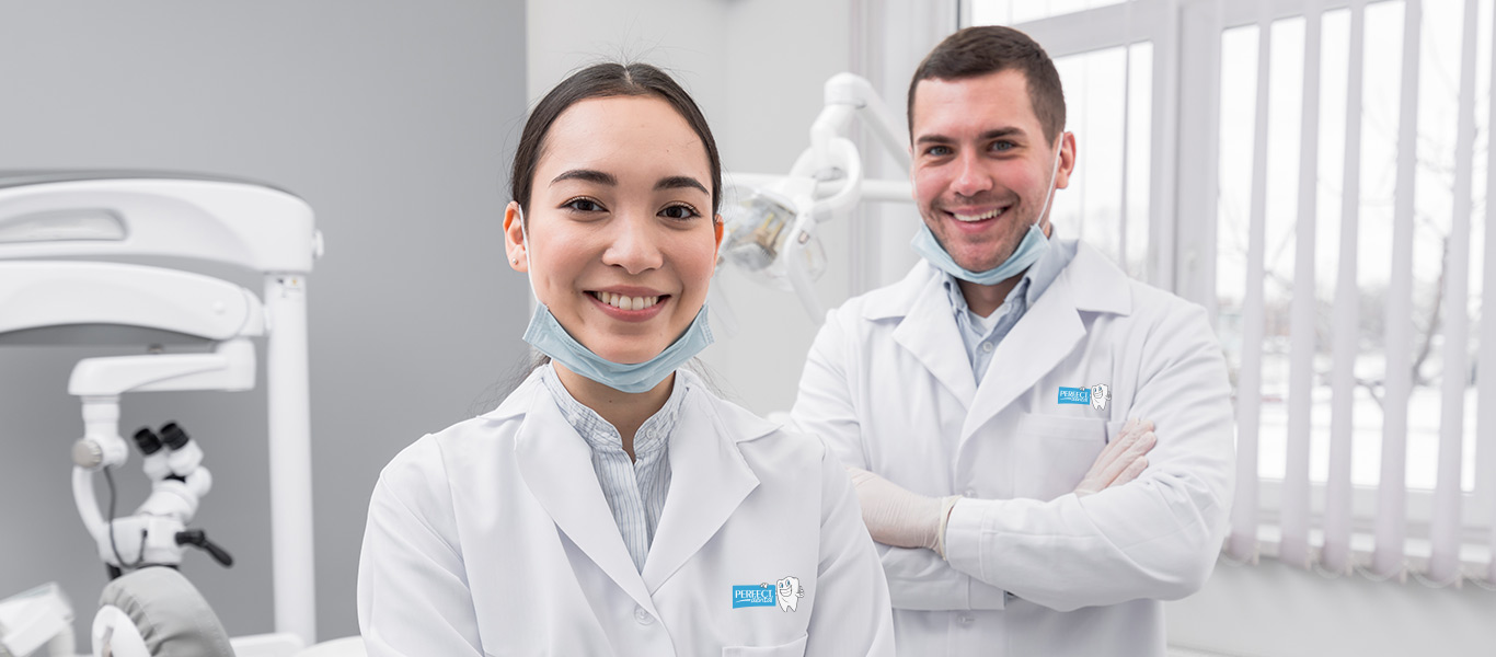 Perfect Dental Dentist smiling at camera